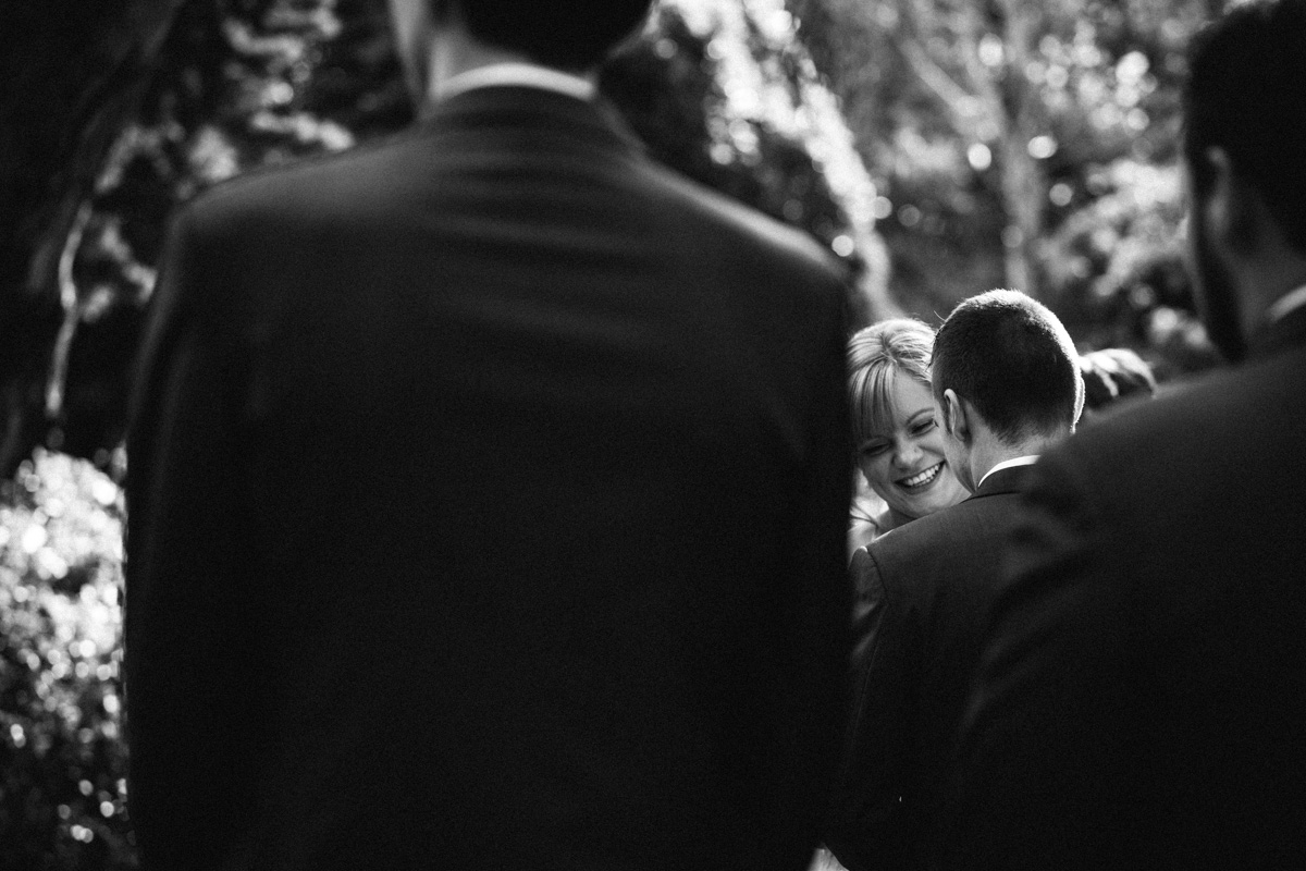 Bride smiling at Barossa Chateau Wedding