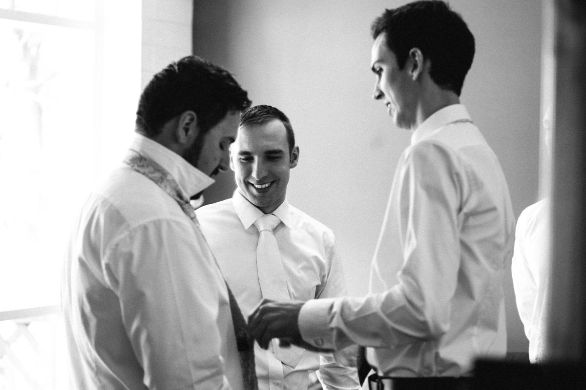 Groom's Wedding Preparation at Barossa Chateau