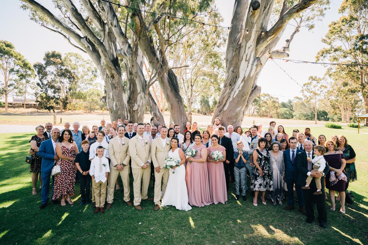 wedding guest photo at serafino wines