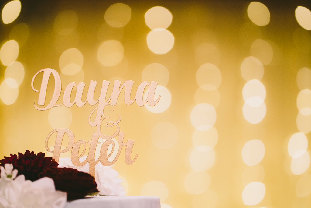 Cake Topper & Fairy Lights